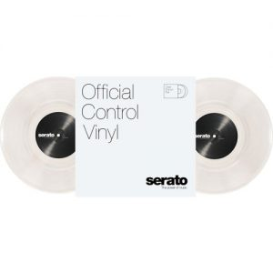 "Serato 10"" Standard Colours CLEAR (Pair) at Gear 4 Music Image"