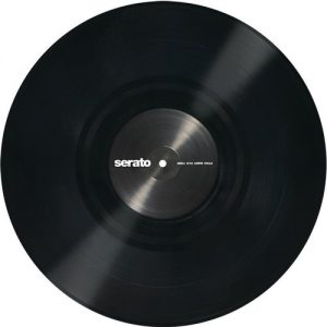 Serato 12'' Standard Colours BLACK (Single) at Gear 4 Music Image