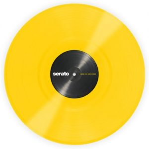 "Serato 12"" Standard Colours YELLOW (Pair) at Gear 4 Music Image"