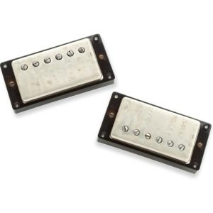 Seymour Duncan Antiquity Humbucker Set Nickel at Gear 4 Music Image
