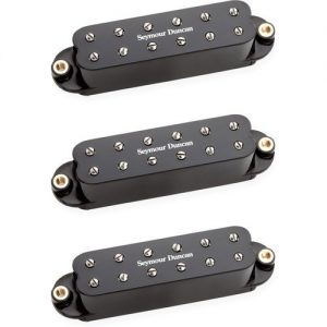 Seymour Duncan Red Devil Single Coil Sized PAF Set Black at Gear 4 Music Image