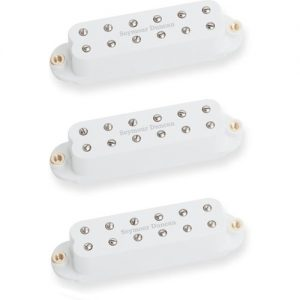 Seymour Duncan Red Devil Single Coil Sized PAF Set White at Gear 4 Music Image