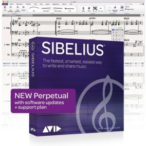 Sibelius Perpetual Licence at Gear 4 Music Image