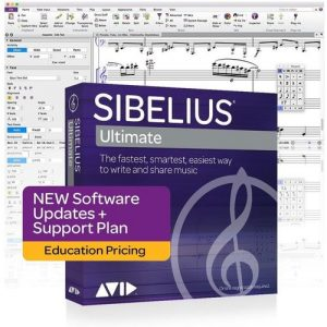 Sibelius Ultimate New Support Plan (Student/Teacher) at Gear 4 Music Image