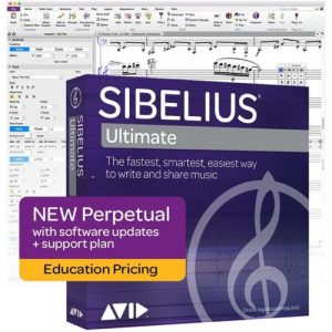 Sibelius Ultimate Perpetual Licence (Student/Teacher) at Gear 4 Music Image