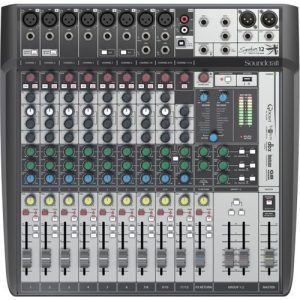 Soundcraft Signature 12 MTK Analogue Mixer with USB - Nearly New at Gear 4 Music Image