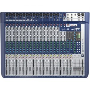 Soundcraft Signature 22 Analogue Mixer with USB and FX - Nearly New at Gear 4 Music Image