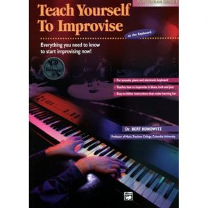 Teach Yourself to Improvise on Keyboard - Book & CD at Gear 4 Music Image