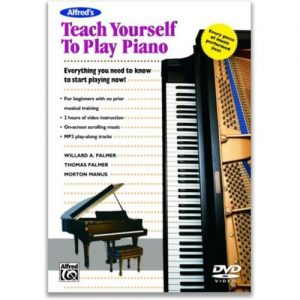 Teach Yourself to Play Piano DVD at Gear 4 Music Image