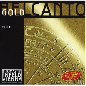 Thomastik Infeld BC31G Belcanto Gold Cello String Set at Gear 4 Music Image