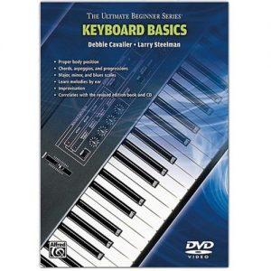 Ultimate Beginner Series: Keyboard Basics (Book/CD/DVD) at Gear 4 Music Image