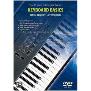 Ultimate Beginners Keyboard DVD at Gear 4 Music Image