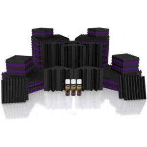 Universal Acoustics Mercury 4 Solar System Kit Purple and Charcoal at Gear 4 Music Image