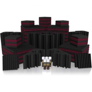 Universal Acoustics Mercury 6 Solar System Kit Burgundy and Charcoal at Gear 4 Music Image
