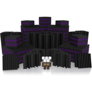 Universal Acoustics Mercury 6 Solar System Kit Purple and Charcoal at Gear 4 Music Image