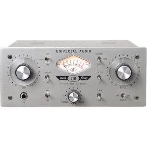Universal Audio 710 Twin-Finity™ Tone-Blending Mic Preamp and DI Box at Gear 4 Music Image