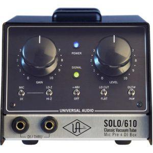 Universal Audio SOLO/610 Classic Tube Preamplifier & DI Box at Gear 4 Music Image