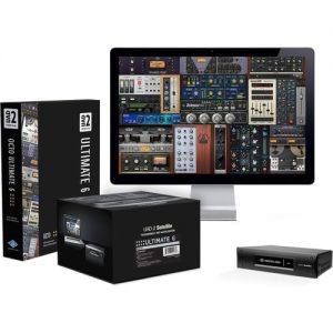 Universal Audio UAD-2 Satellite Thunderbolt OCTO Ultimate 6 at Gear 4 Music Image