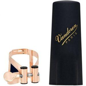 Vandoren M/O Alto Sax Lig Pink Gold Plated Plastic Cap at Gear 4 Music Image