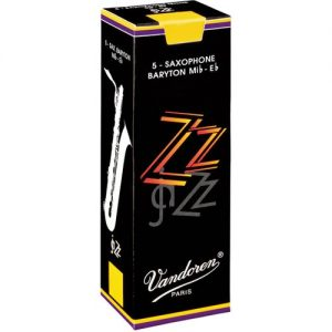 Vandoren ZZ Baritone Saxophone Reeds 2 (5 Pack) at Gear 4 Music Image