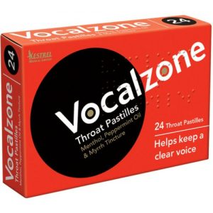 Vocalzone Throat Pastilles at Gear 4 Music Image