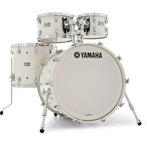 "Yamaha Absolute Maple Hybrid 22"" 4pc Shell Pack Polar White at Gear 4 Music Image"