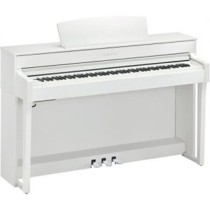 Yamaha CLP 645 Digital Piano White at Gear 4 Music Image