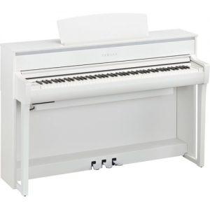 Yamaha CLP 675 Digital Piano White at Gear 4 Music Image