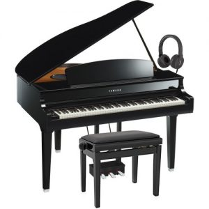 Yamaha CLP 695 Digital Grand Piano Package Polished Ebony at Gear 4 Music Image