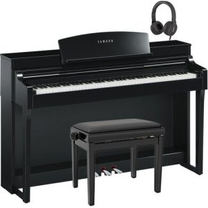 Yamaha Clavinova CSP 150 Digital Piano Pack Polished Ebony at Gear 4 Music Image