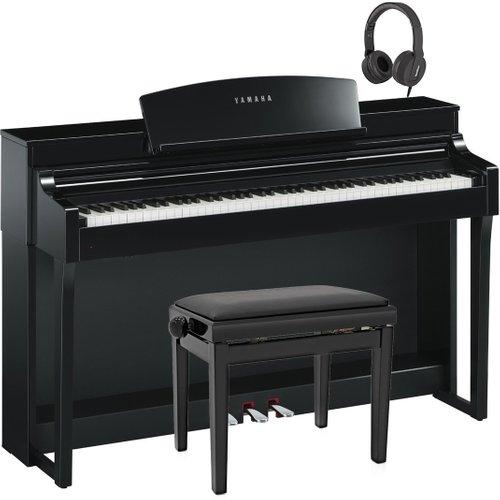 Yamaha Clavinova CSP 150 Digital Piano Pack Polished Ebony at Gear 4 Music Image