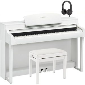 Yamaha Clavinova CSP 150 Digital Piano Pack Satin White at Gear 4 Music Image