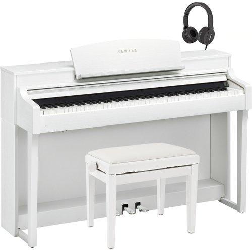 Yamaha Clavinova CSP 150 Digital Piano Pack Satin White at Gear 4 Music Image