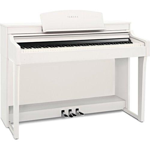 Yamaha Clavinova CSP 150 Digital Piano Satin White at Gear 4 Music Image
