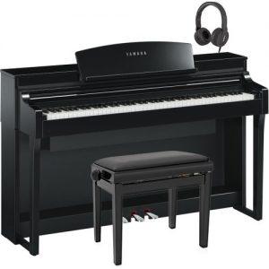 Yamaha Clavinova CSP 170 Digital Piano Pack Polished Ebony at Gear 4 Music Image