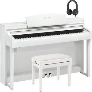Yamaha Clavinova CSP 170 Digital Piano Pack Satin White at Gear 4 Music Image