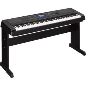 Yamaha DGX 660 Digital Piano with Stand Black at Gear 4 Music Image