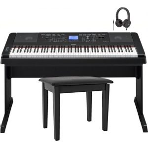 Yamaha DGX 660 Digital Piano with Stand Package Black at Gear 4 Music Image