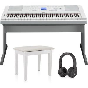 Yamaha DGX 660 Digital Piano with Stand Package White at Gear 4 Music Image