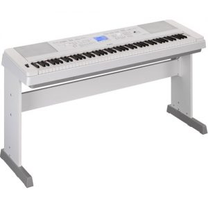 Yamaha DGX 660 Digital Piano with Stand White at Gear 4 Music Image
