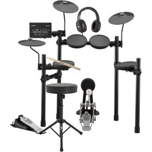 Yamaha DTX432K Electronic Drum Kit with Headphones Stool + Sticks at Gear 4 Music Image