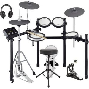 Yamaha DTX582 Electronic Drum Kit with Accessory Pack at Gear 4 Music Image