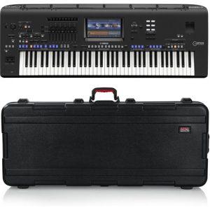 Yamaha Genos Digital Workstation Keyboard Gator Case Bundle at Gear 4 Music Image