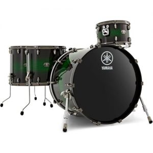 "Yamaha Live Custom 22"" 4pc Shell Pack Emerald Shadow at Gear 4 Music Image"