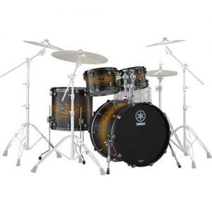 Yamaha Live Custom Hybrid Oak 22 4pc Shell Pack Earth Sunburst at Gear 4 Music Image