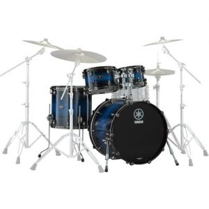 Yamaha Live Custom Hybrid Oak 22 4pc Shell Pack Ice Sunburst at Gear 4 Music Image