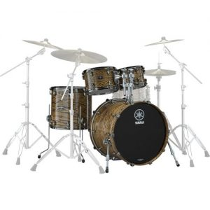 Yamaha Live Custom Hybrid Oak 22 4pc Shell Pack Natural at Gear 4 Music Image