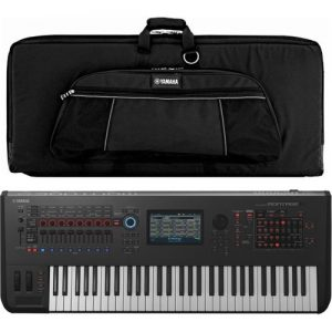 Yamaha MONTAGE 6 Synthesizer with Soft Case at Gear 4 Music Image