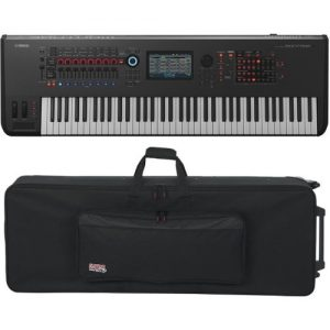 Yamaha MONTAGE 7 with Gator GK-76 Case at Gear 4 Music Image