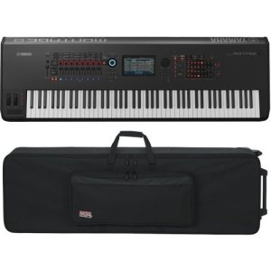 Yamaha MONTAGE 8 with Gator GK-88 Case at Gear 4 Music Image